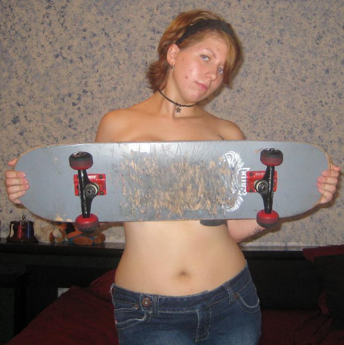 Skateboarderin (34) aus Stralsund